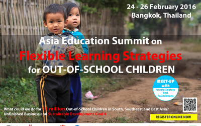 Asia Education Summit on Flexible Learning Strategies for Out-of-School Children
