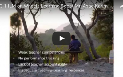 7.2 ILM on Wheels: Learning Boost – Use of technology to extend advanced learning opportunities to marginalized students and their teachers