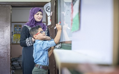 Jordan: Ministry of Education and UNICEF launches 'Summer Schools' for thousands of children to compensate for missed school days
