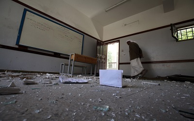 Yemen: UNICEF warns conflict shutters one in 10 schools; teachers unpaid for a year