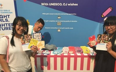 UNESCO and CJ Group put the spotlight on girls' education at #KCONLA2018